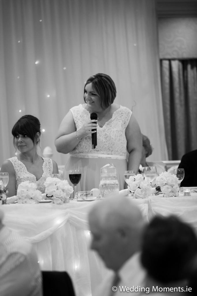 chief bridemaids speech