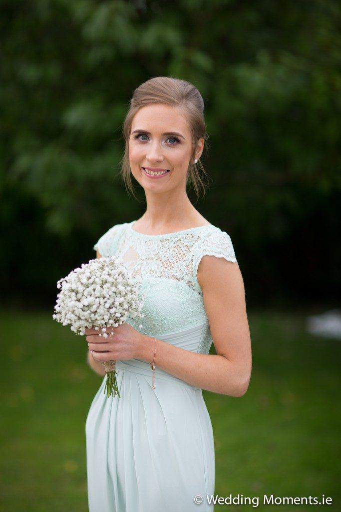 portrait of bridesmaid