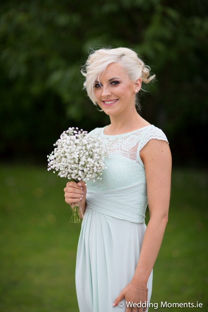 portrait of brides sister