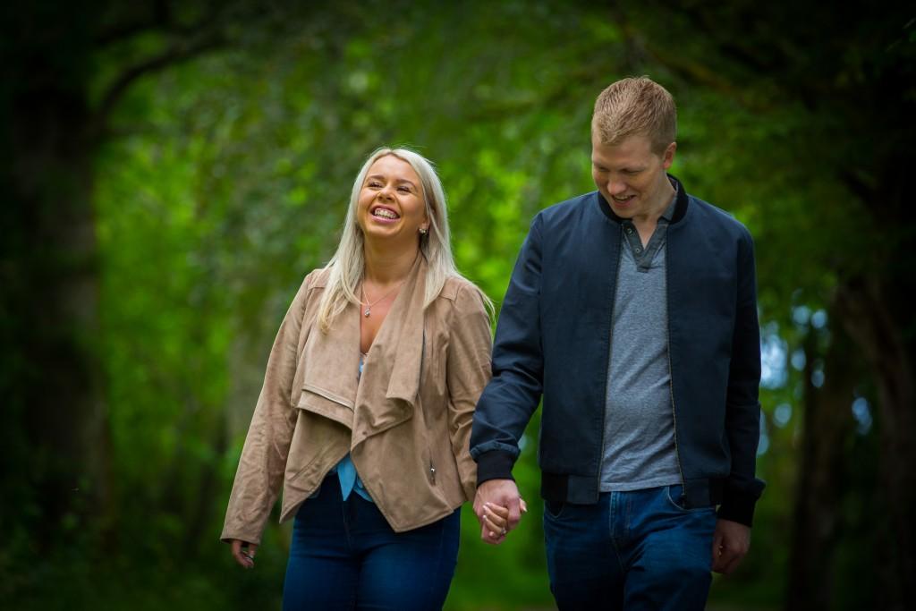 Aisling and Brendan Pre Wedding Shoot Sligo
