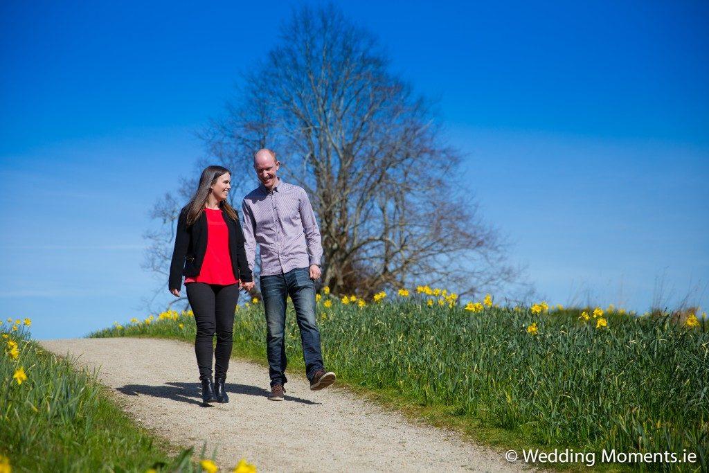 Wedding photographer in sligo engagement shoot